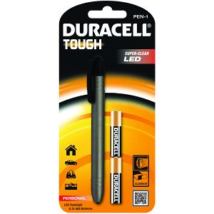 Duracell Tough Personal 2AAA 1LED zaklantaarn