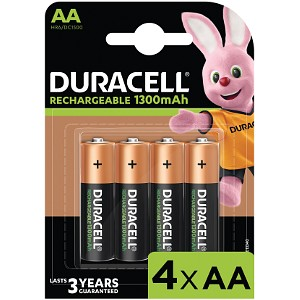 Duracell Stay Charged AA 1300 mAh oplaadbaar (4 st)