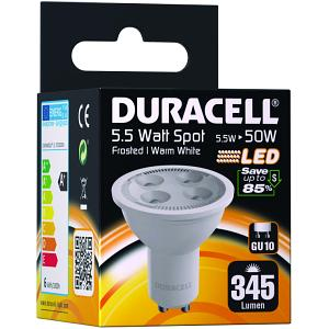 LED GU10 5.5W Frosted Spot Bulb