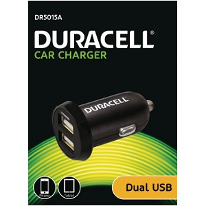 Duracell car/auto USB lader