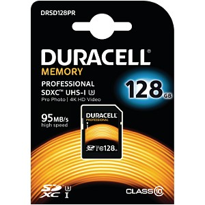 Duracell 128GB SDXC UHS-3 geheugenkaart