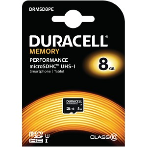 Duracell 8GB microSDHC UHS-I geheugenkaart