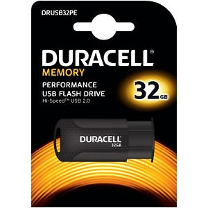 Duracell 32GB USB 2.0 Flash drive