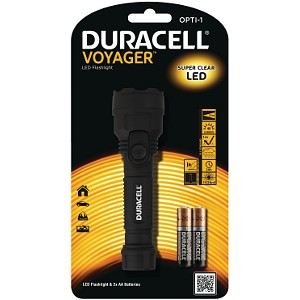 Duracell Voyager OPTI Torch