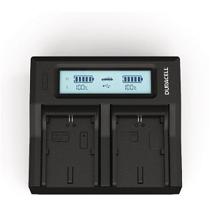 Digimax L70 Canon LP-E6N Dual Battery charger