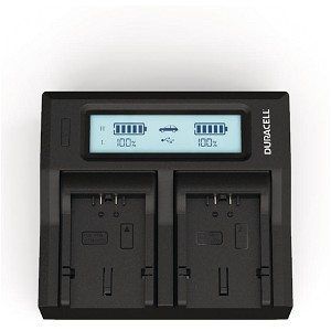 Lumix FZ7EG-K Panasonic CGA-S006 Dual Battery Charger
