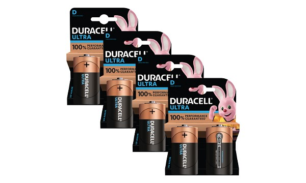 Duracell Ultra Power D-cel alkaline (8 st)