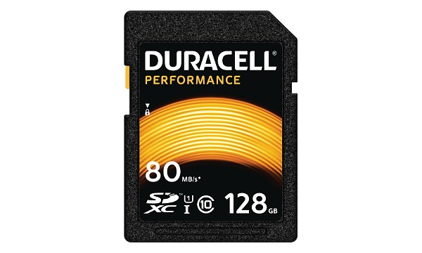 Duracell 128GB SDXC UHS-I geheugenkaart
