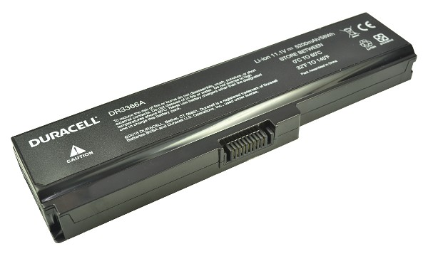 Satellite A665-12K Batterij (6 cellen)